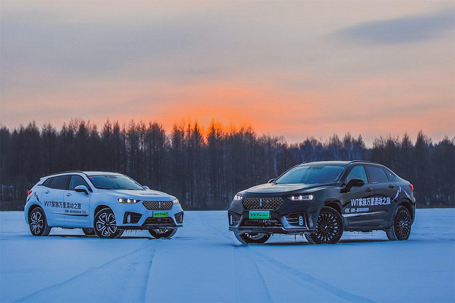 極端嚴寒和冰雪叢林的考驗 VV7 PHEV & VV7 GT PHEV冰雪試駕