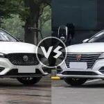 两款紧凑级轿车如何选 荣威ei6对比名爵6新能源